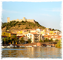 Bosa town is steeped in history and is built around the Castello Malaspina which dates from 1112 AD.