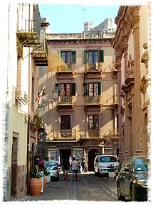 Centro Storico (The historical centre of Bosa) is a labyrinth of walkways in Bosa, Sardinia